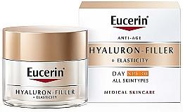 Parfumuri și produse cosmetice Cremă anti-îmbătrânire de zi pentru toate tipurile de ten - Eucerin Anti-Age Elasticity+Filler Day Cream SPF 30