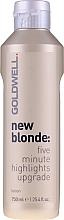 Parfumuri și produse cosmetice Loțiune pentru păr, cu efect de iluminare - Goldwell New Blonde Lotion