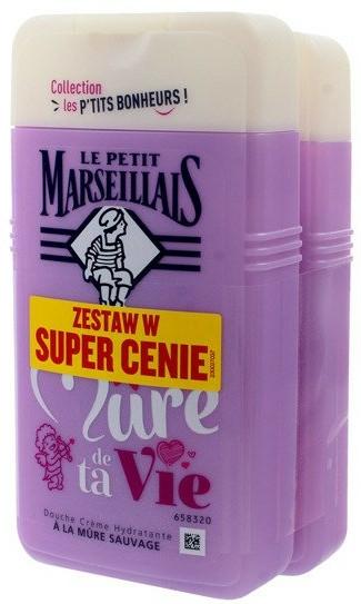 Set - Le Petit Marseillais Je Suis La Mure De Ta Vie Shower Gel (sh/gel/2x250ml)