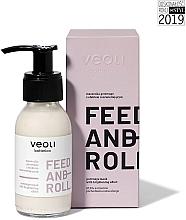 Parfumuri și produse cosmetice Mască-gomaj de față - Veoli Botanica Brightening Gommage Mask Feed And Roll
