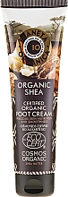 Parfumuri și produse cosmetice Cremă hidratantă de picioare - Planeta Organica Organic Shea Foot Cream
