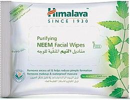 Parfumuri și produse cosmetice Șervețele de curățare pentru față - Himalaya Purifying Neem Facial Wipes