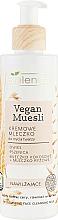 Parfumuri și produse cosmetice Lapte hidratant pentru curățarea feței - Bielenda Vegan Muesli Moisturizing Face Cleaning Milk