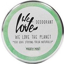 "Deodorant cremă ""Mentă"" - We Love The Planet Mighty Mint Cream Deodorant — Imagine N1"