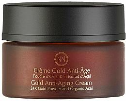 Parfumuri și produse cosmetice Cremă anti-îmbătrânire pentru față - Innossence Innor Gold Anti-Aging Cream