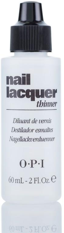 Diluant pentru lacuri - O.P.I Nail Lacquer Thinner — Imagine N1