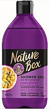 Parfumuri și produse cosmetice Gel de duș - Nature Box Passion Fruit oil Shower Gel