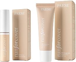 Parfumuri și produse cosmetice Set - Paese 17 (fond/30 ml + concealer/9ml)