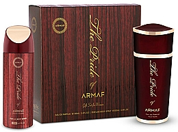 Parfumuri și produse cosmetice Armaf The Pride of Armaf - Set (edp 100 ml + deo/spray 200 ml)