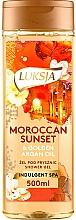 Parfumuri și produse cosmetice Gel de duș - Luksja Moroccan Sunset & Golden Argan Oil Shower Gel