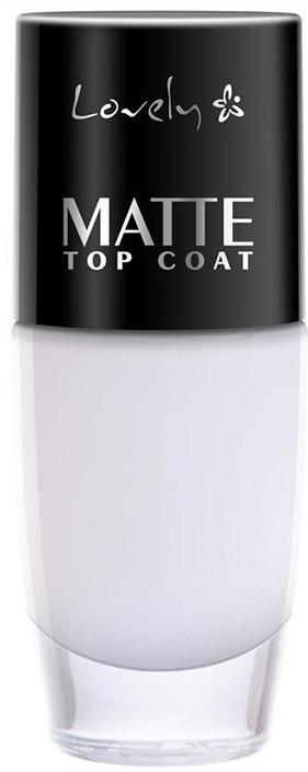 Soluție de finisare pentru unghii, mat - Lovely Matte Top Coat