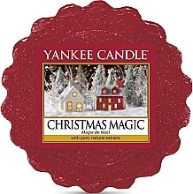 Parfumuri și produse cosmetice Ceară aromată - Yankee Candle Christmas Magic Tarts Wax Melts