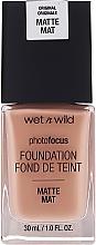 Parfumuri și produse cosmetice Fond de ten - Wet N Wild Photofocus Foundation