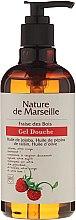 Parfumuri și produse cosmetice Gel de duș cu ulei natural de căpșuni sălbatice - Nature de Marseille Strawberries Shower Gel