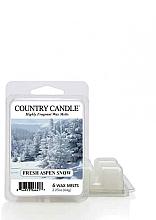 Parfumuri și produse cosmetice Ceară pentru lampă aromatică - Country Candle Fresh Aspen Snow Wax Melts