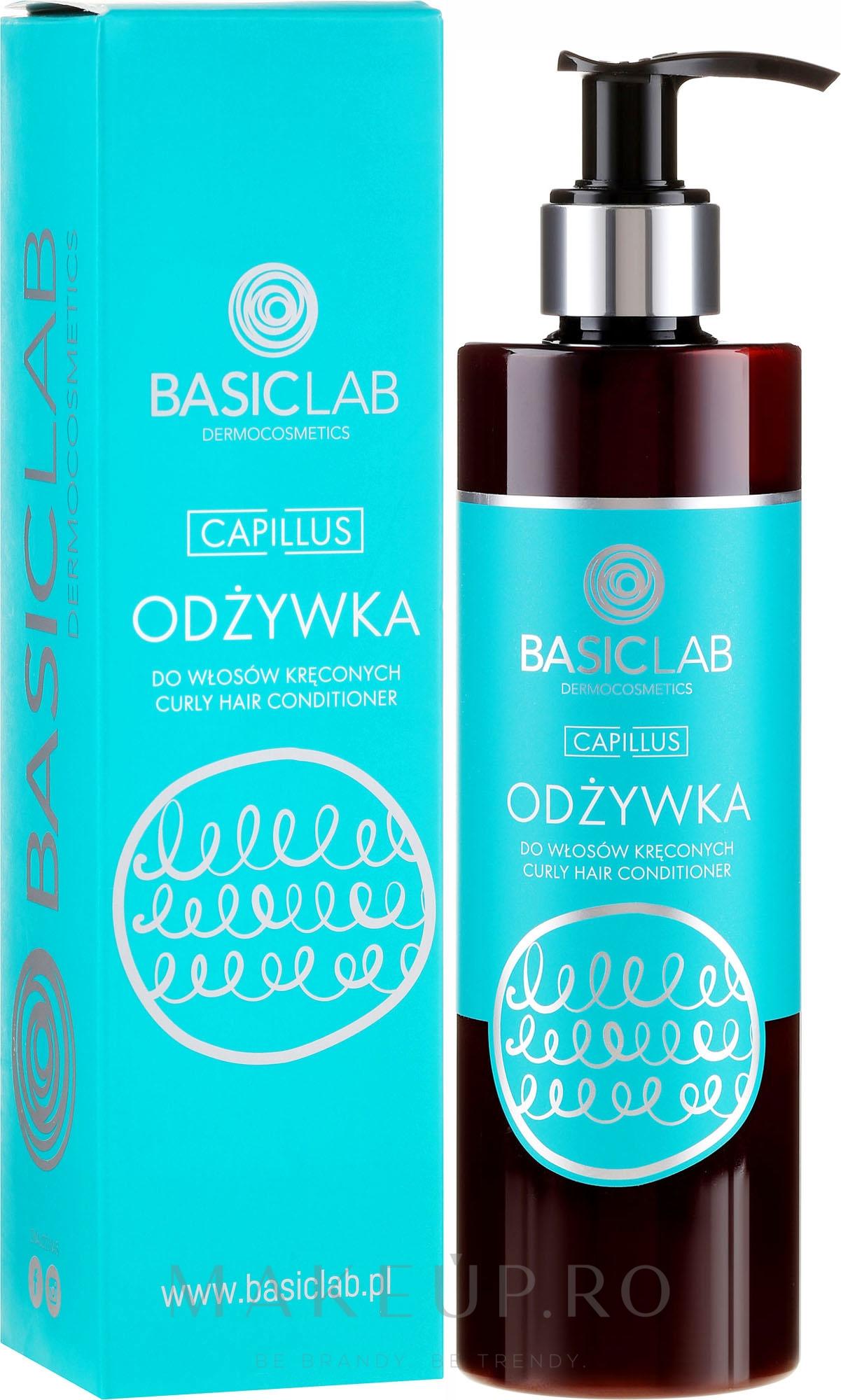 Balsam de păr - BasicLab Dermocosmetics Capillus — Imagine 300 ml