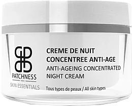 Parfumuri și produse cosmetice Cremă concentrată de noapte pentru față - Patchness Skin Essentials Anti-Ageing Concentrated Night Cream