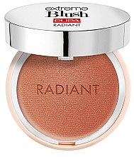Parfumuri și produse cosmetice Fard sidefat pentru obraz - Pupa Extreme Blush Radiant