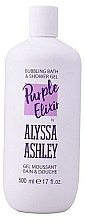 Parfumuri și produse cosmetice Gel de duș - Alyssa Ashley Purple Elixir Bath And Shower Gel
