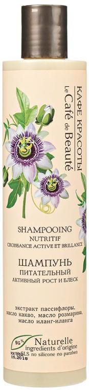 """Șampon nutritiv """"Creștere activă și strălucire"""" - Le Cafe de Beaute Nourishing Shampoo — Imagine N1"""