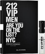 Carolina Herrera 212 VIP Men - Apă de toaletă (mostră) — Imagine N1