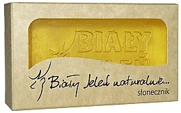 Parfumuri și produse cosmetice Săpun hipoalergenic cu extract de floarea soarelui - Bialy Jelen Hypoallergenic Soap Extract Sunflower