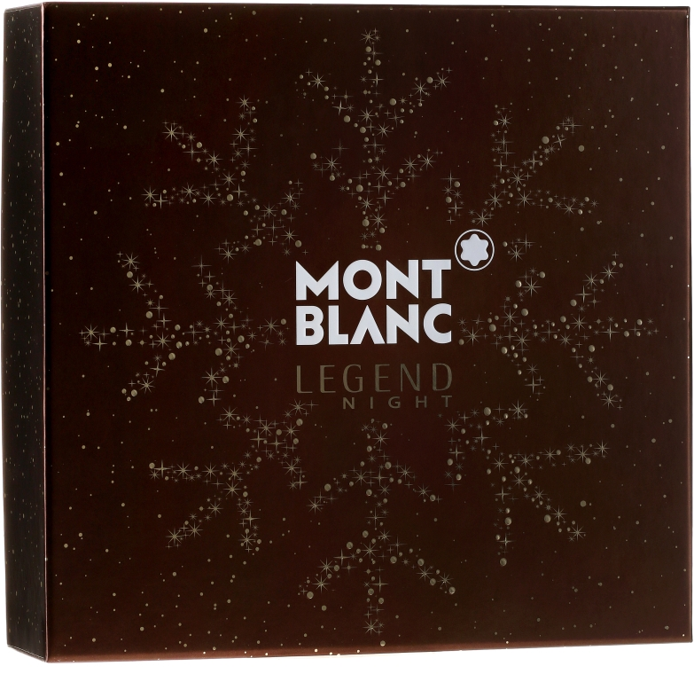 Montblanc Legend Night - Set (edp/100ml + ash/balm/100ml + sh/gel/100ml) — Imagine N1