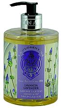 """Parfumuri și produse cosmetice Săpun lichid """"Lavandă"""" - La Florentina Lavender Liquid Soap"""
