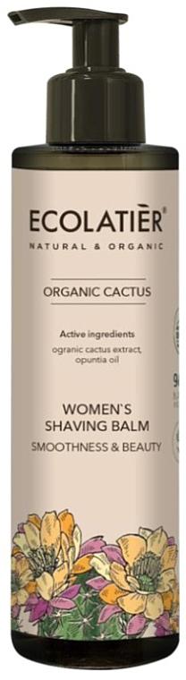 Balsam pentru ras, pentru femei - Ecolatier Organic Cactus Women's Shaving Balm