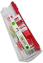 Parfumuri și produse cosmetice Set - PHB Plus Junior Ladybug (toothbrush+toothpaste/15ml+bag)