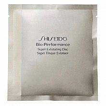 Parfumuri și produse cosmetice Discuri exfoliante cu efect anti-îmbătrânire - Shiseido Bio Performance Super Exfoliating