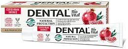 """Parfumuri și produse cosmetice Pastă de dinți """"Protecție naturală"""" cu rodie - Dental Bio Vital Natural Protection Toothpaste"""