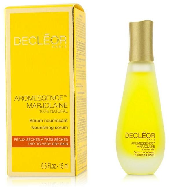 Ser facial pentru piele uscată - Decleor Aromessence Marjolaine Nourishing Serum — Imagine N3