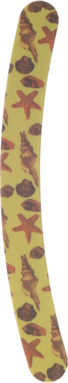 Pilă de unghii, 7453, galben - Top Choice — Imagine N1