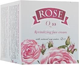 Parfumuri și produse cosmetice Cremă regeneratoare de față cu Q10 - Bulgarian Rose Rose