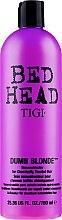 Parfumuri și produse cosmetice Balsam regenerant pentru păr deteriorat - Tigi Bed Head Dumb Blonde Conditioner
