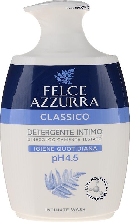 "Săpun lichid delicat pentru igiena intimă ""Clasic"" - Felce Azzurra Classic Intimate Wash"