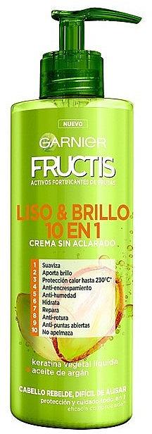 Cremă pentru păr - Garnier Fructis Smooth & Shine Cream