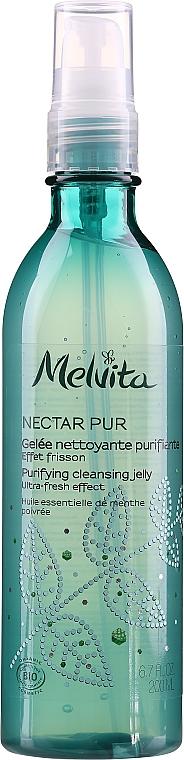 Gel de curățare pentru ten - Melvita Nectar Pur Purifyng Cleansing Jelly