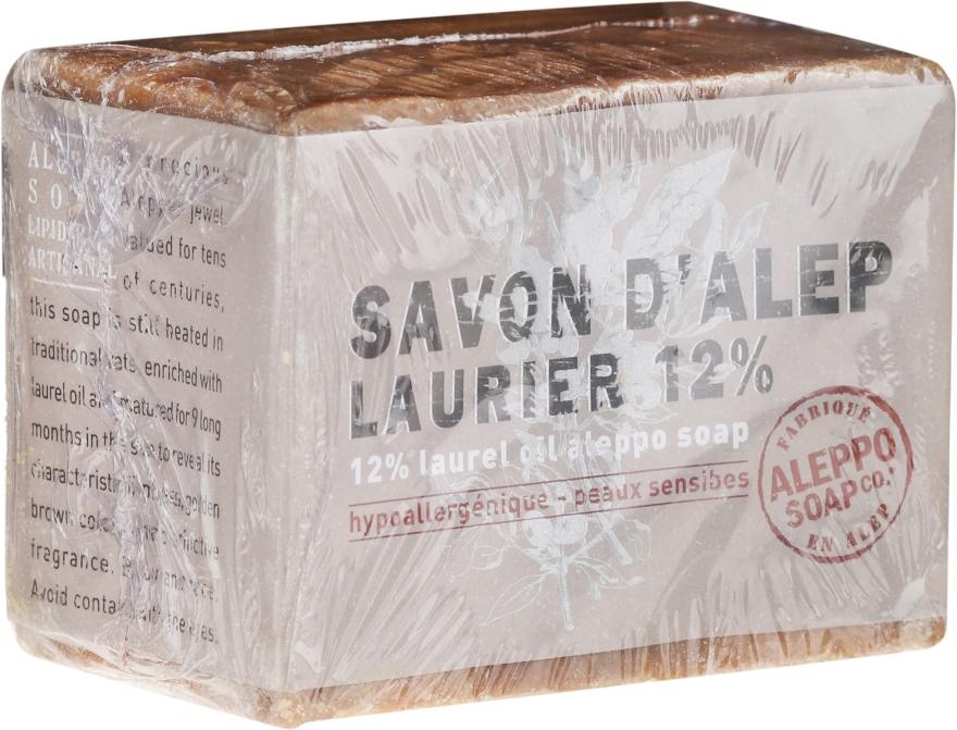 Săpun de Alepo cu ulei de laur 12% - Tade Aleppo Laurel 12% Soap 12% — Imagine N1