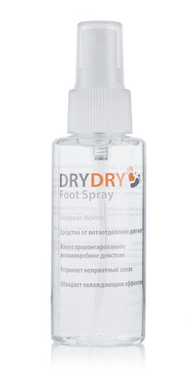 Spray eficient împotriva transpirației picioarelor - Excelsior Dry Dry Foot Spray — Imagine N1