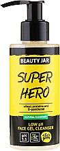 """Gel de curățare pentru față """"Super hero"""" - Beauty Jar Low Ph Face Gel Cleanser — Imagine N1"""