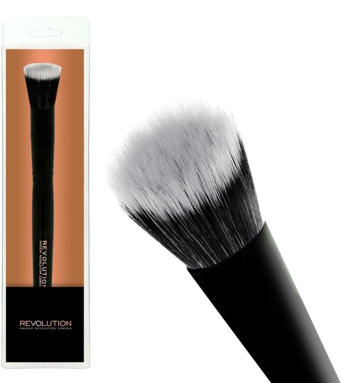 Pensulă pentru fond de ten F103 - Makeup Revolution Stippling Brush — Imagine N1