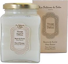 """Parfumuri și produse cosmetice La Sultane de Saba Fleur d'Oranger Orange Blossom - Unt de shea """"Flori de portocal"""""""