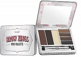 Parfumuri și produse cosmetice Paletă pentru sprâncene - Benefit Brow Zings Pro Palette