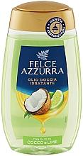 """Parfumuri și produse cosmetice Ulei de duș """"Cocos și Lime"""" - Felce Azzurra Shower Oil"""