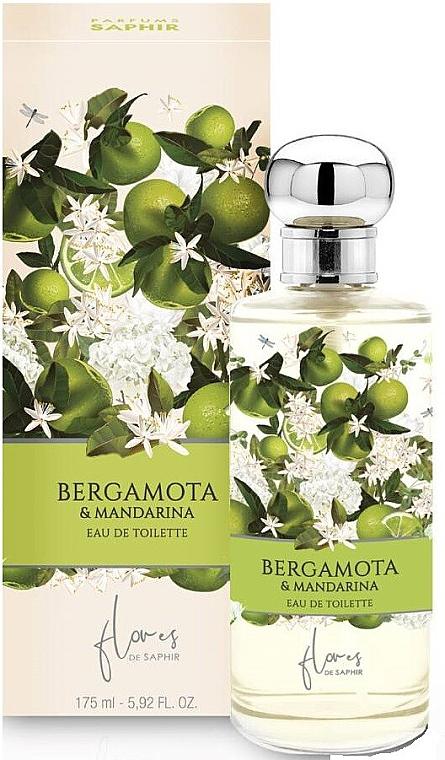 Saphir Parfums Flowers de Saphir Bergamota & Mandaryna - Apă de parfum  — Imagine N1