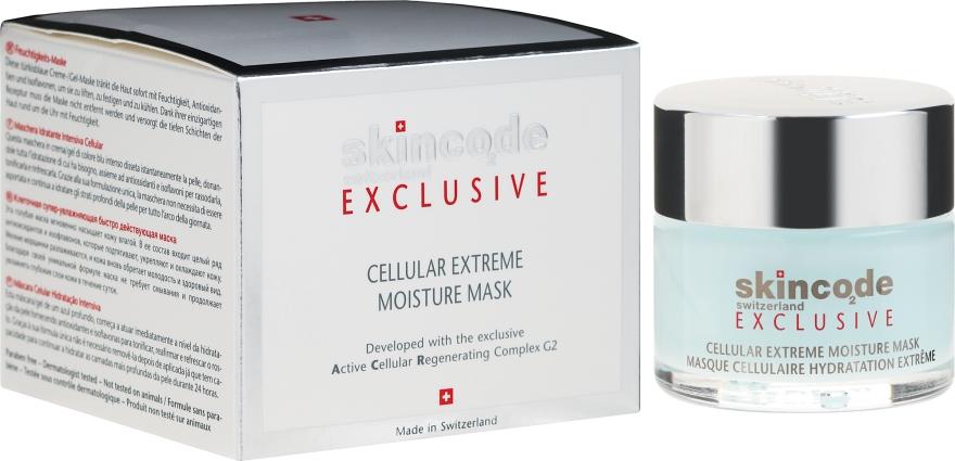 Mască de față - Skincode Exclusive Cellular Extreme Moisture Mask — Imagine N1