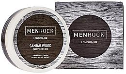 Parfumuri și produse cosmetice Cremă pentru ras - Men Rock Sandalwood Shave Cream