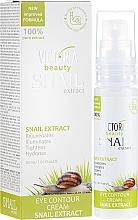 Parfumuri și produse cosmetice Cremă cu extract de melc pentru zona ochilor - Victoria Beauty Snail Eye Contour Cream